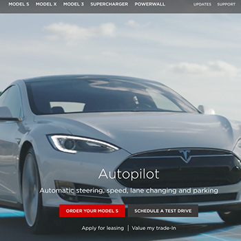 Let's rebuild Tesla's homepage in Webflow
