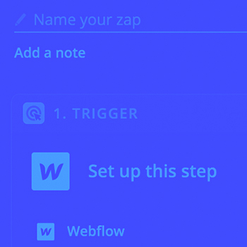 How to use Zapier with your Webflow CMS site