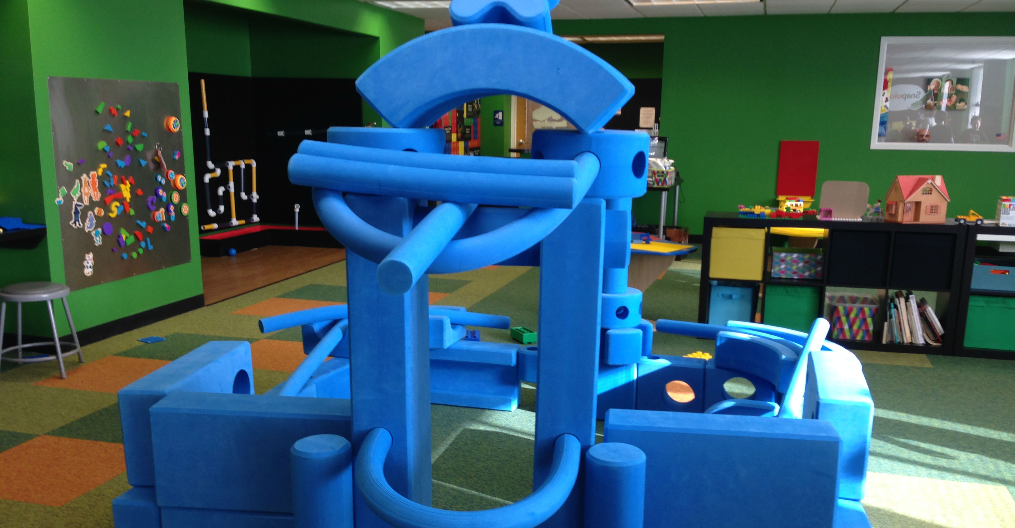 Imagination Playground in Snapology Discovery Center