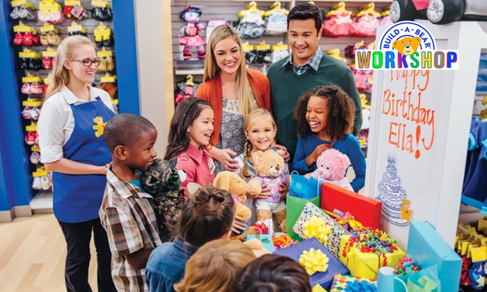 Image result for build a bear party