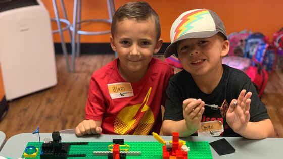Snapology's LEGO® Connections program is a great way to actively engage children teamwork while learning important social skills!
