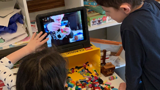 Students sharing LEGO® Projects