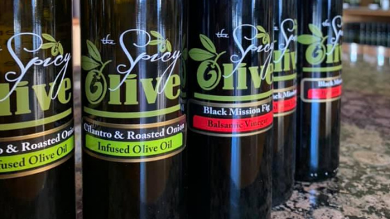 Spicy olive olive oil