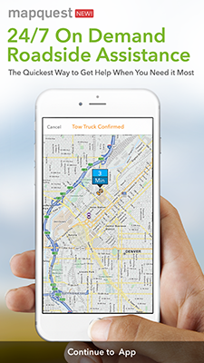 Mapquest and Urgent.ly partnership