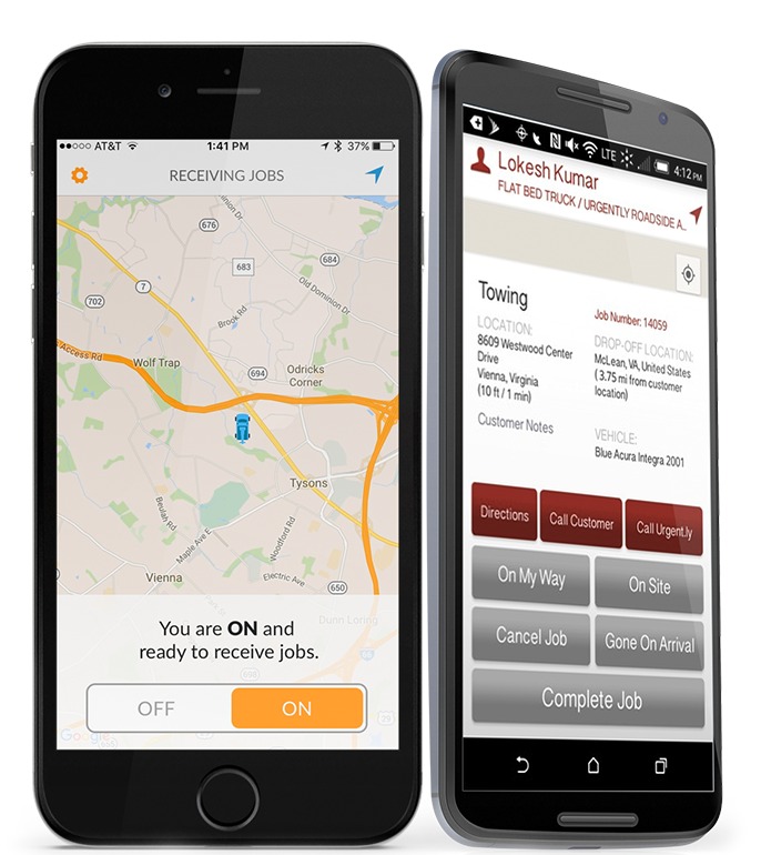 Urgent.ly service provider phone