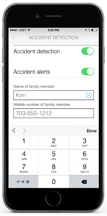 Urgent.ly app accident detection
