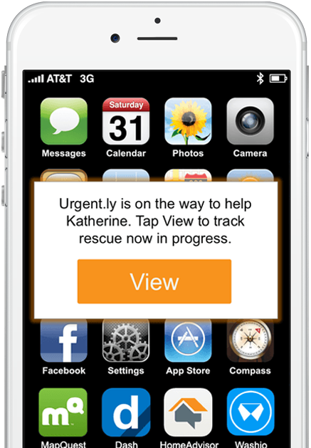 Instant alerts when loved ones request help