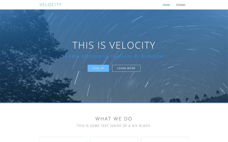 velocity-1