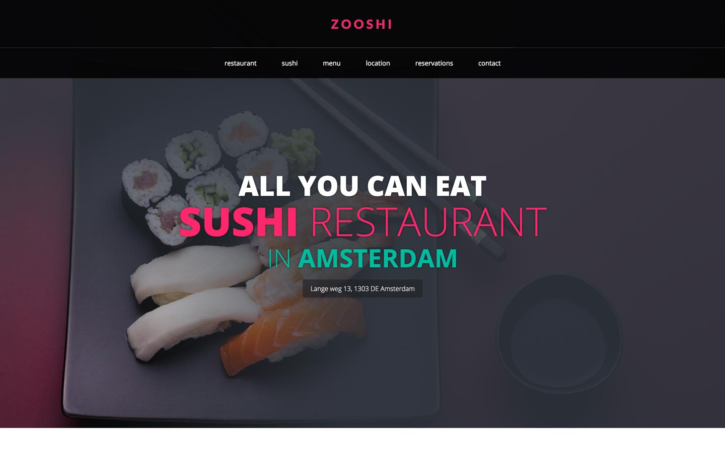 Restaurant Website Templates Available at Webflow