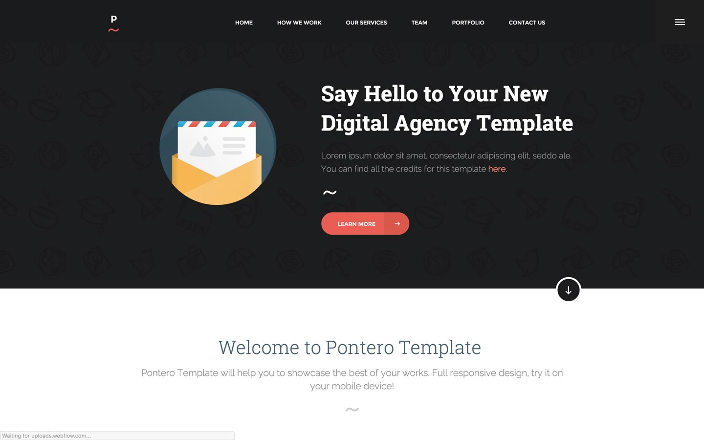 Portfolio Website Templates Available At Webflow - Digital portfolio template