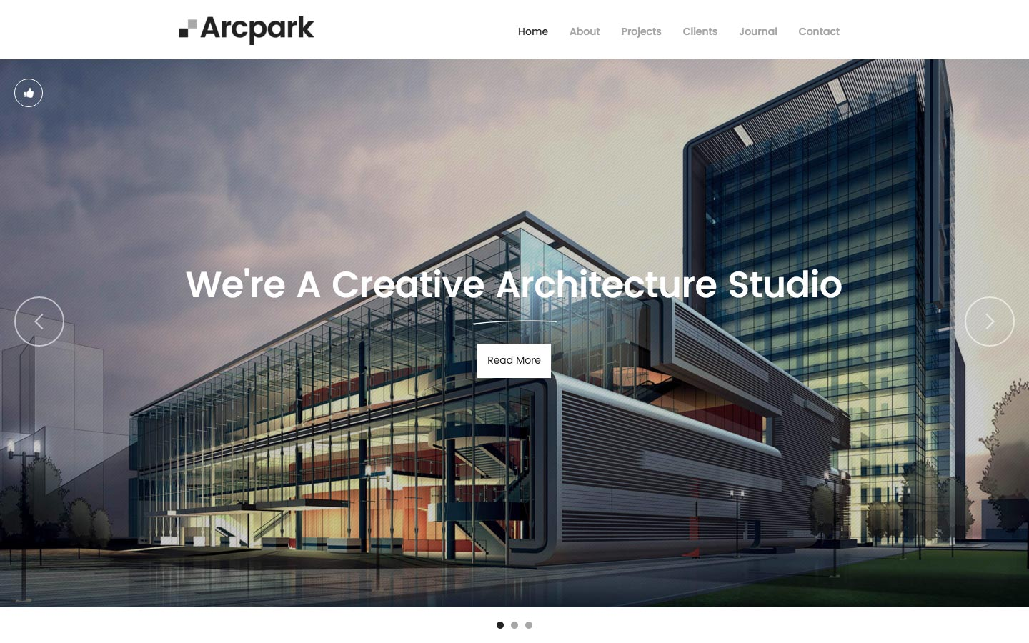 Arcpark - Architecture HTML5 Responsive Website Template