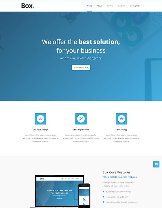 HTML5 responsive website templates | Webflow