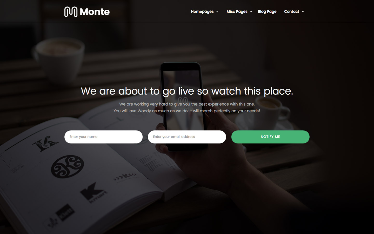 Monte - Business HTML5 Responsive Website Template