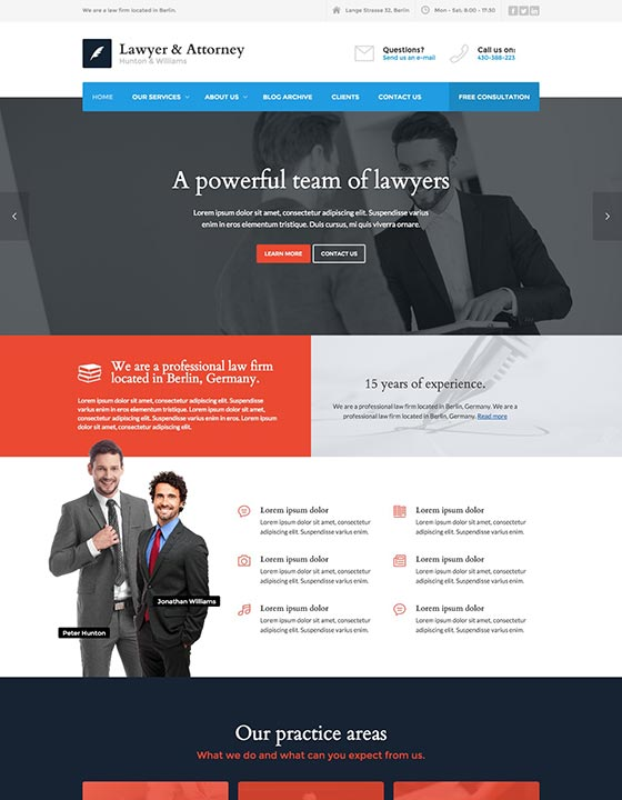 Lawyer and Attorney