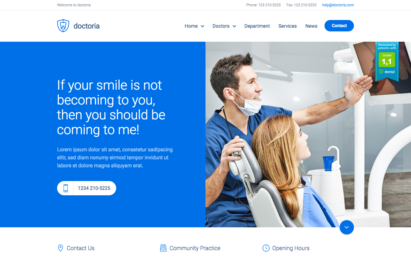 dentist websites