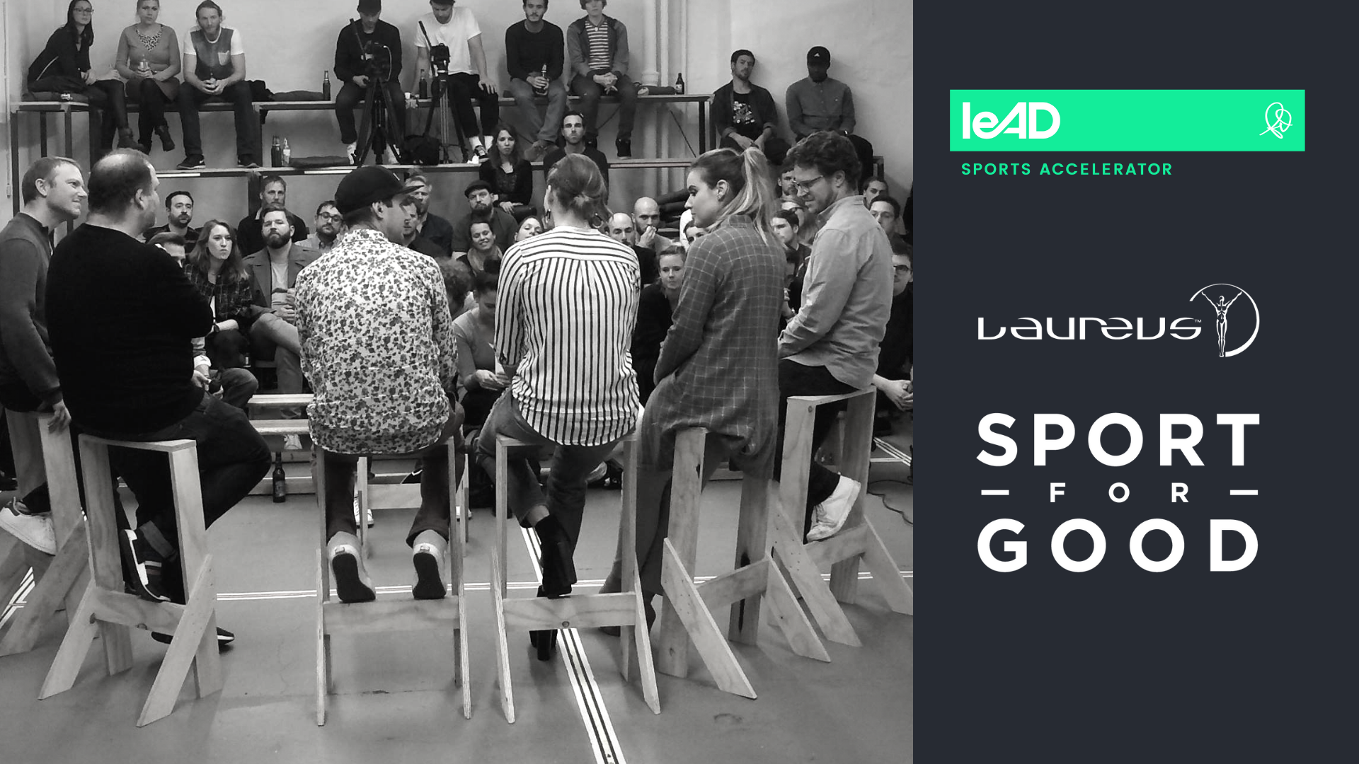 leAD & Laureus Sport for Good team up to invite you for an inspiring evening of sports and social impact