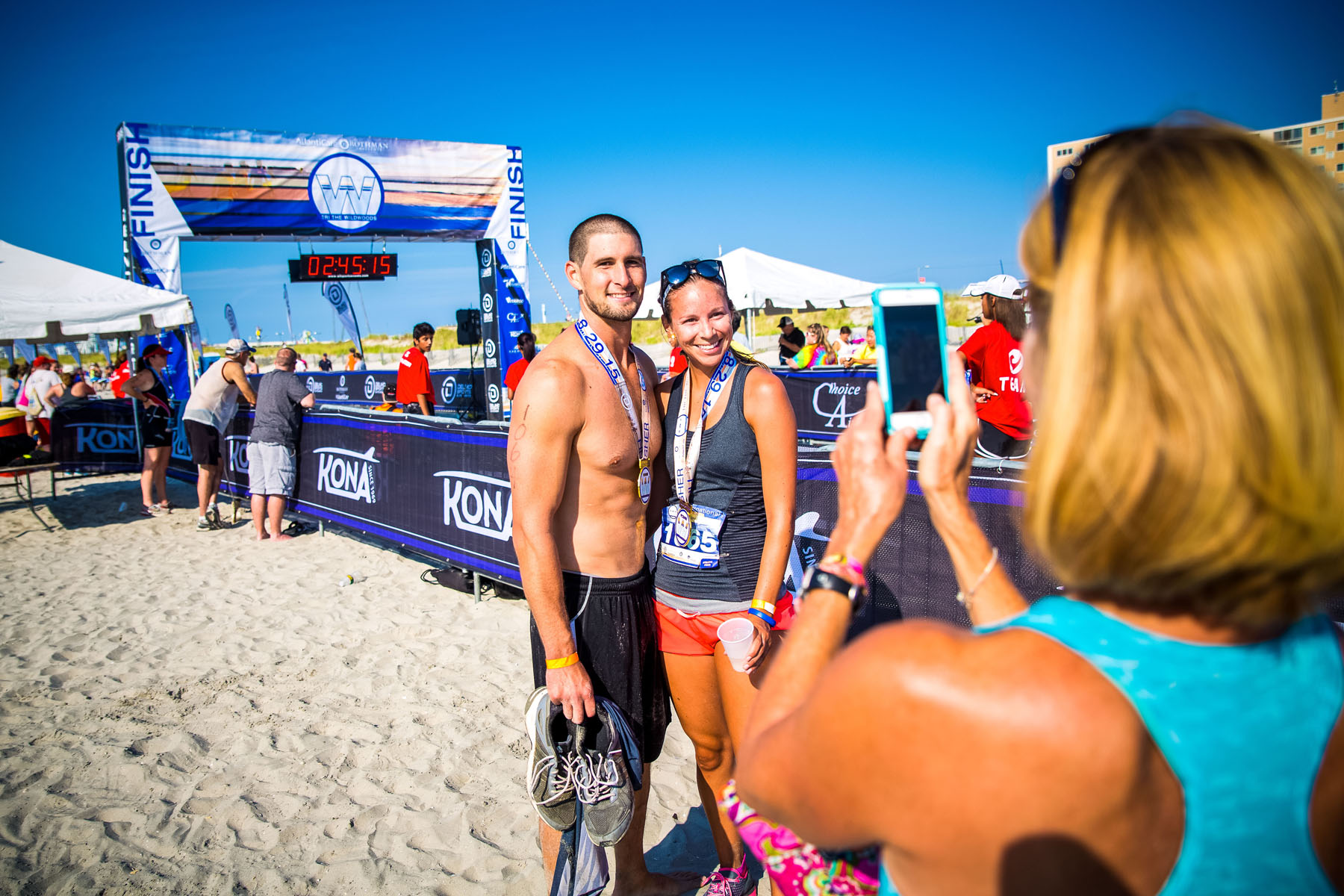 Tri The Wildwoods New Jersey Triathlon - Young triathlete finishers