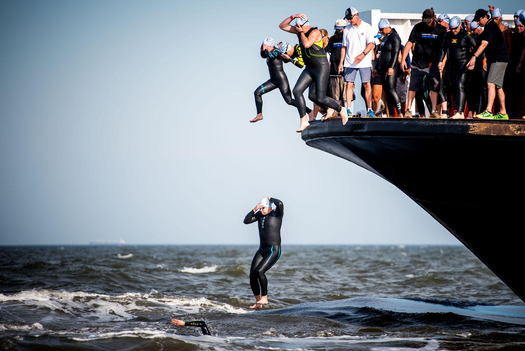 The Jump  - Escape The Cape Triathlon