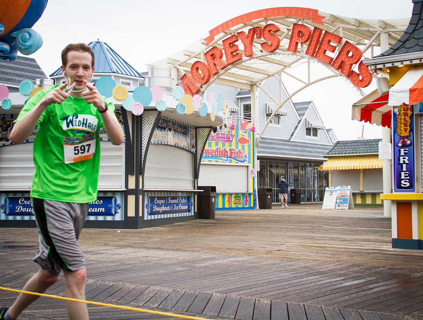 TWH - pier run