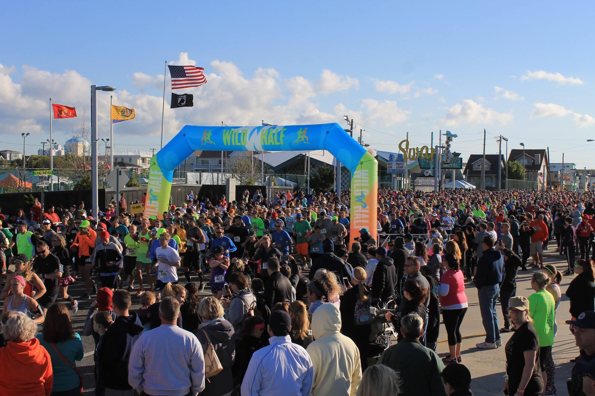 TWH - run crowd