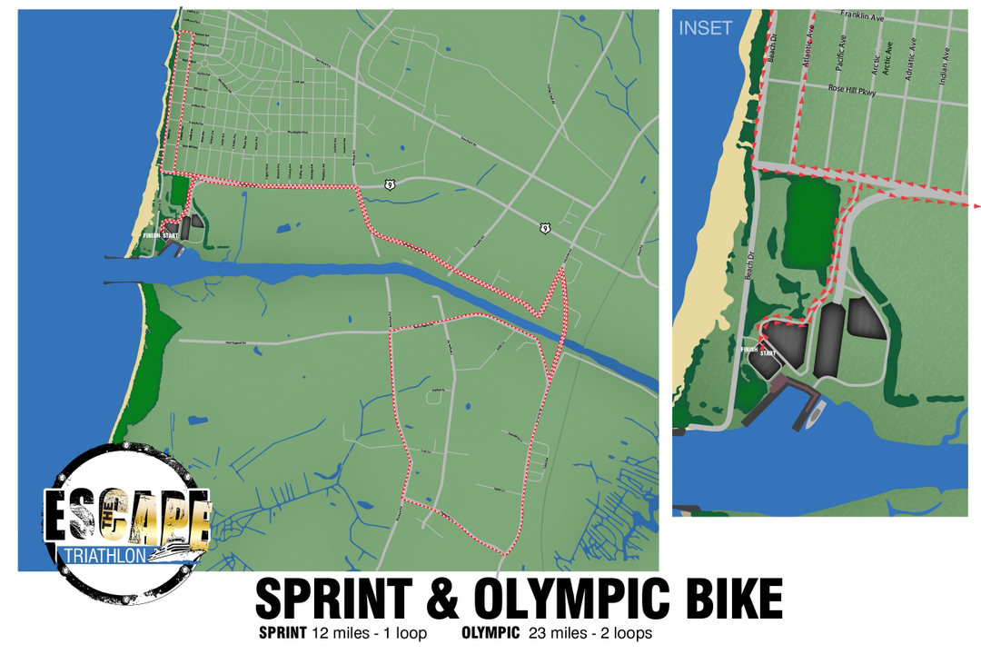 Bike Course (Sprint & Olympic)