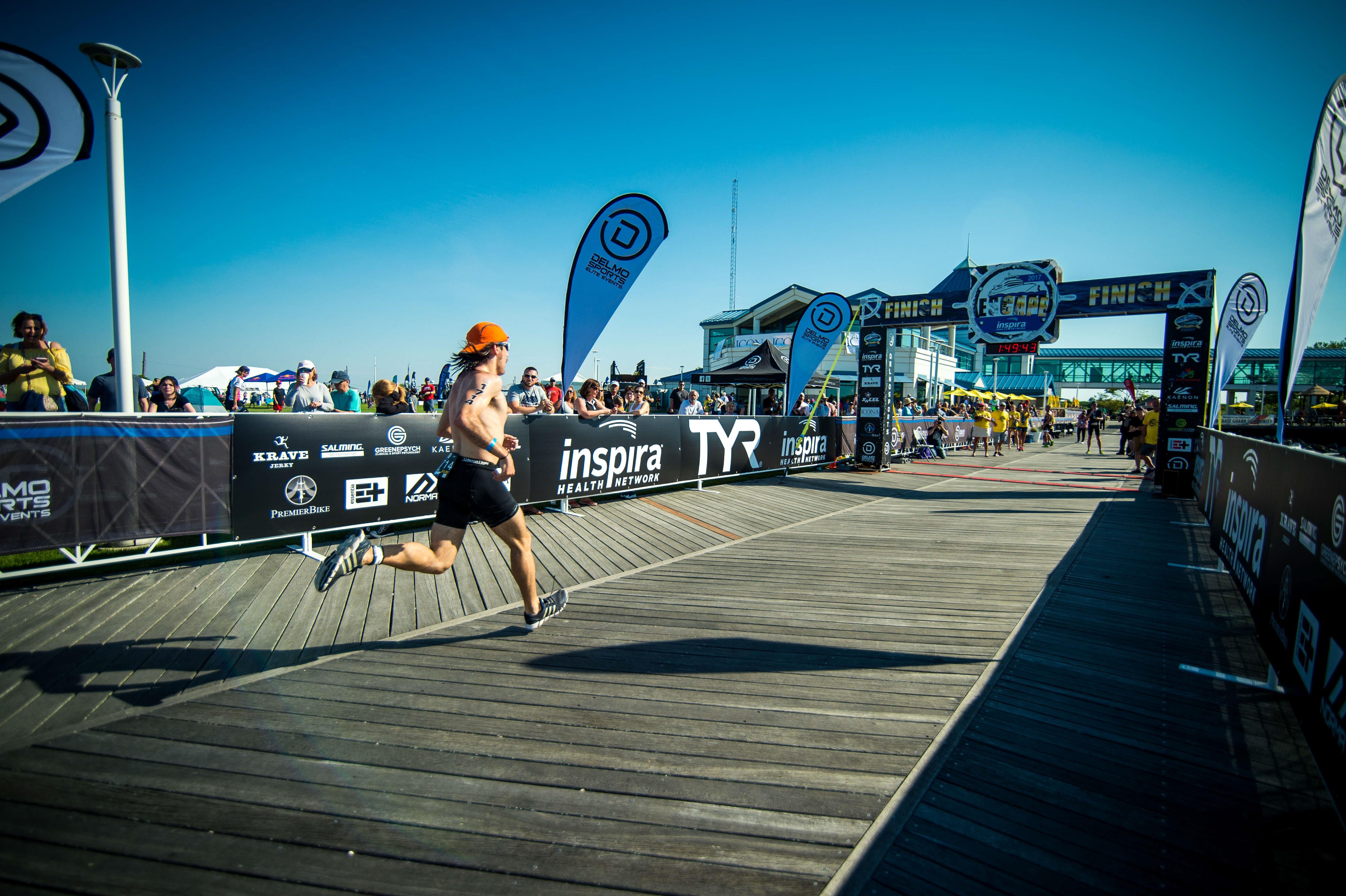 finish  - Escape The Cape Triathlon Copy