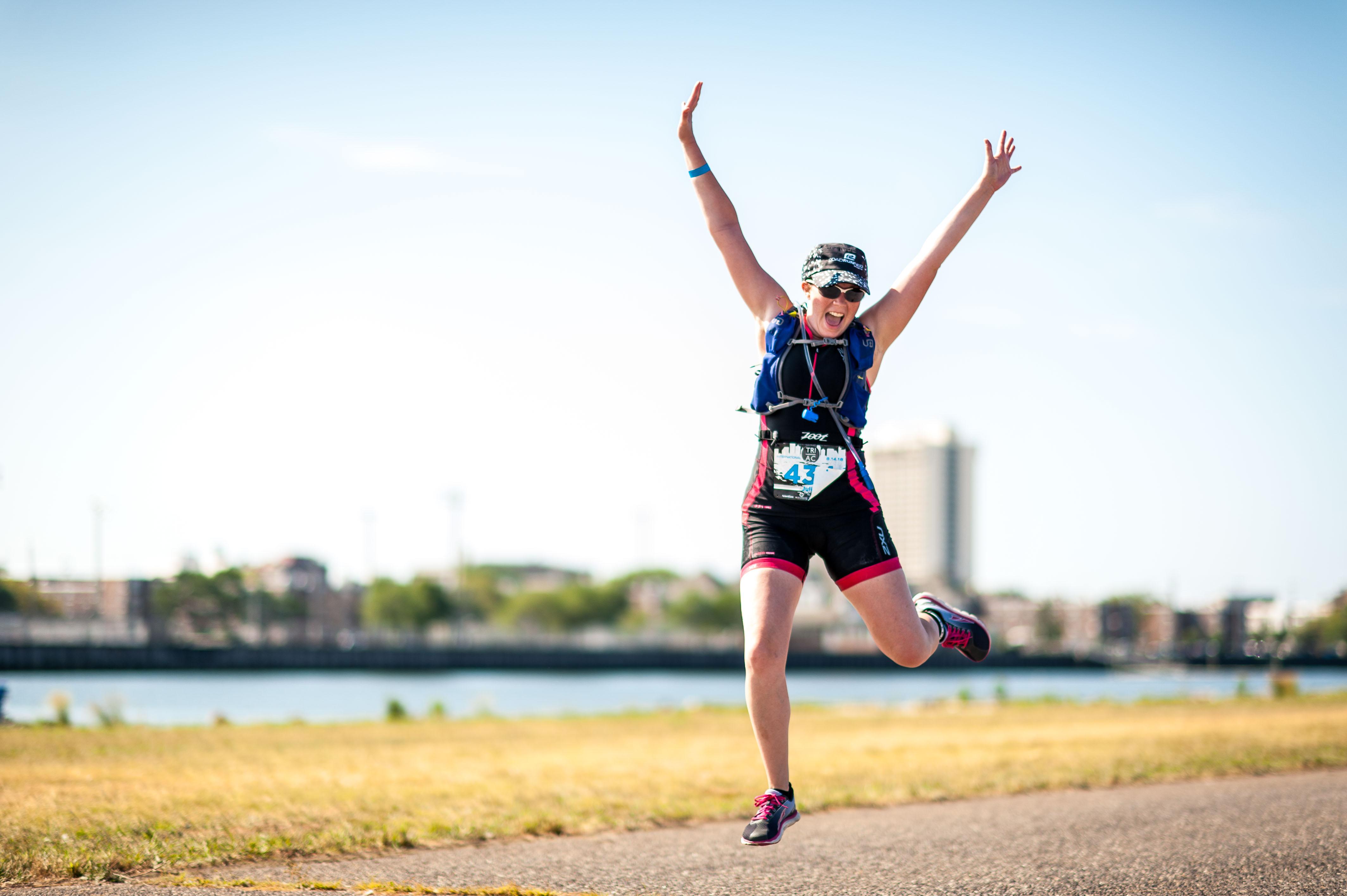jump - Atlantic City Triathlon