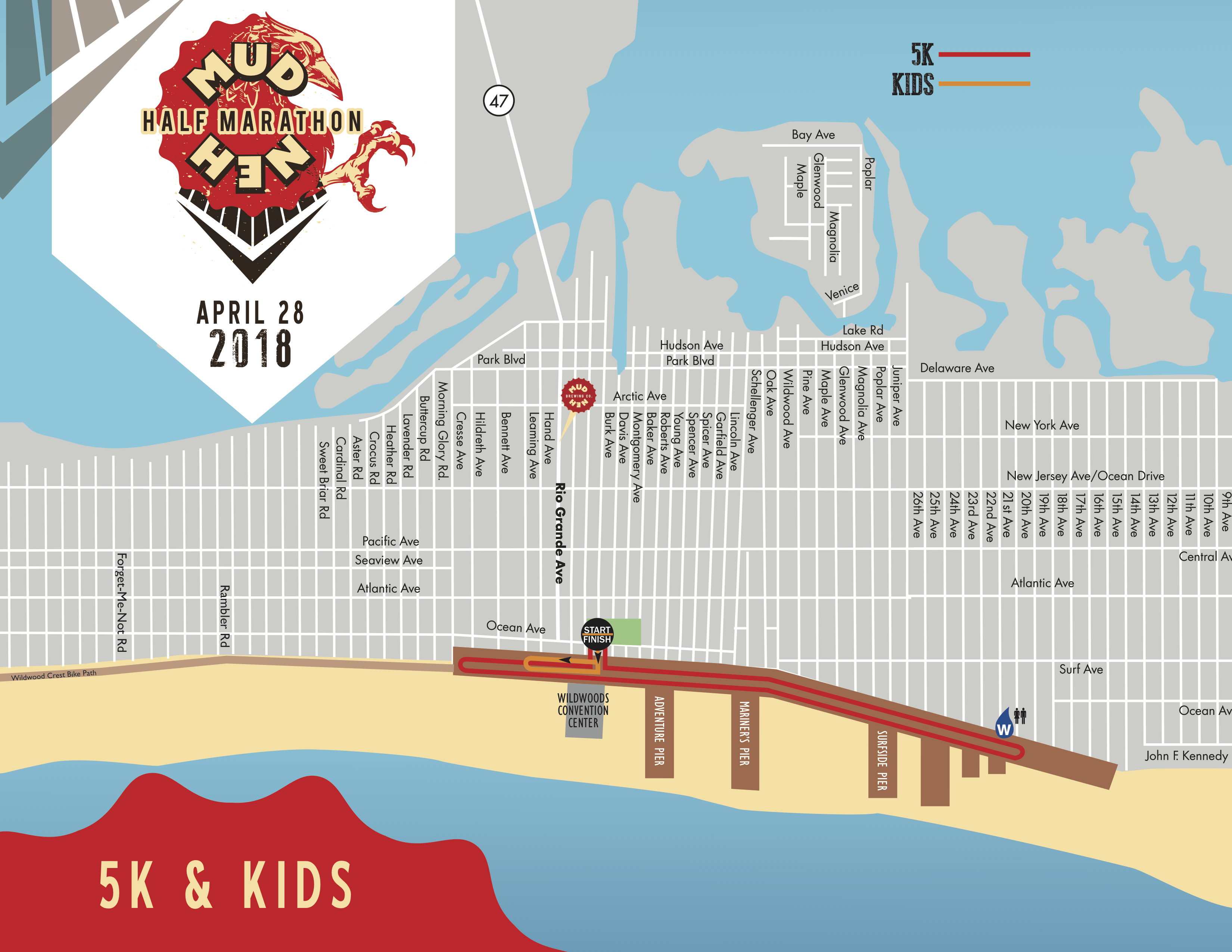 5K and Kids' Course