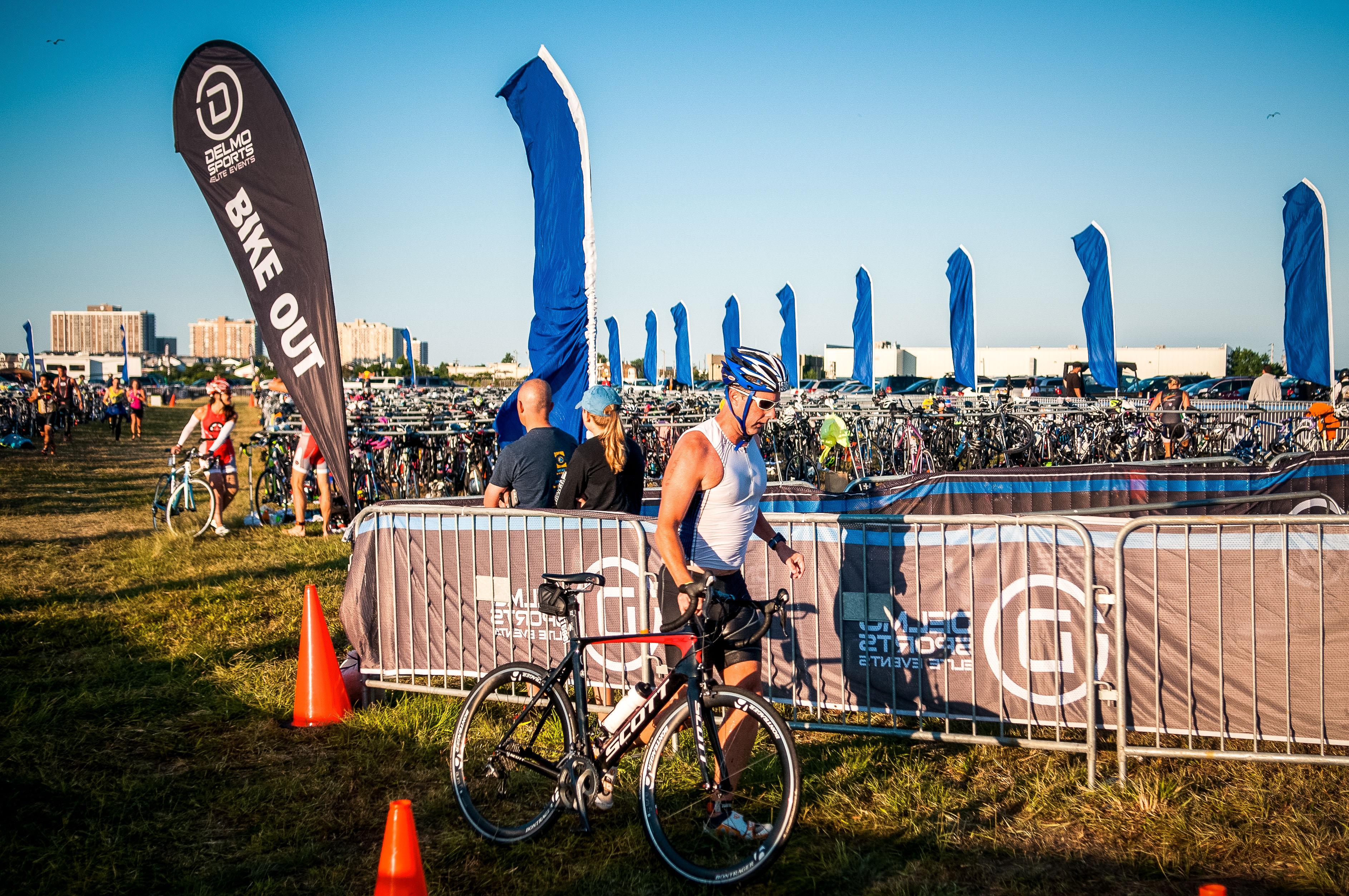 transition - Atlantic City Triathlon