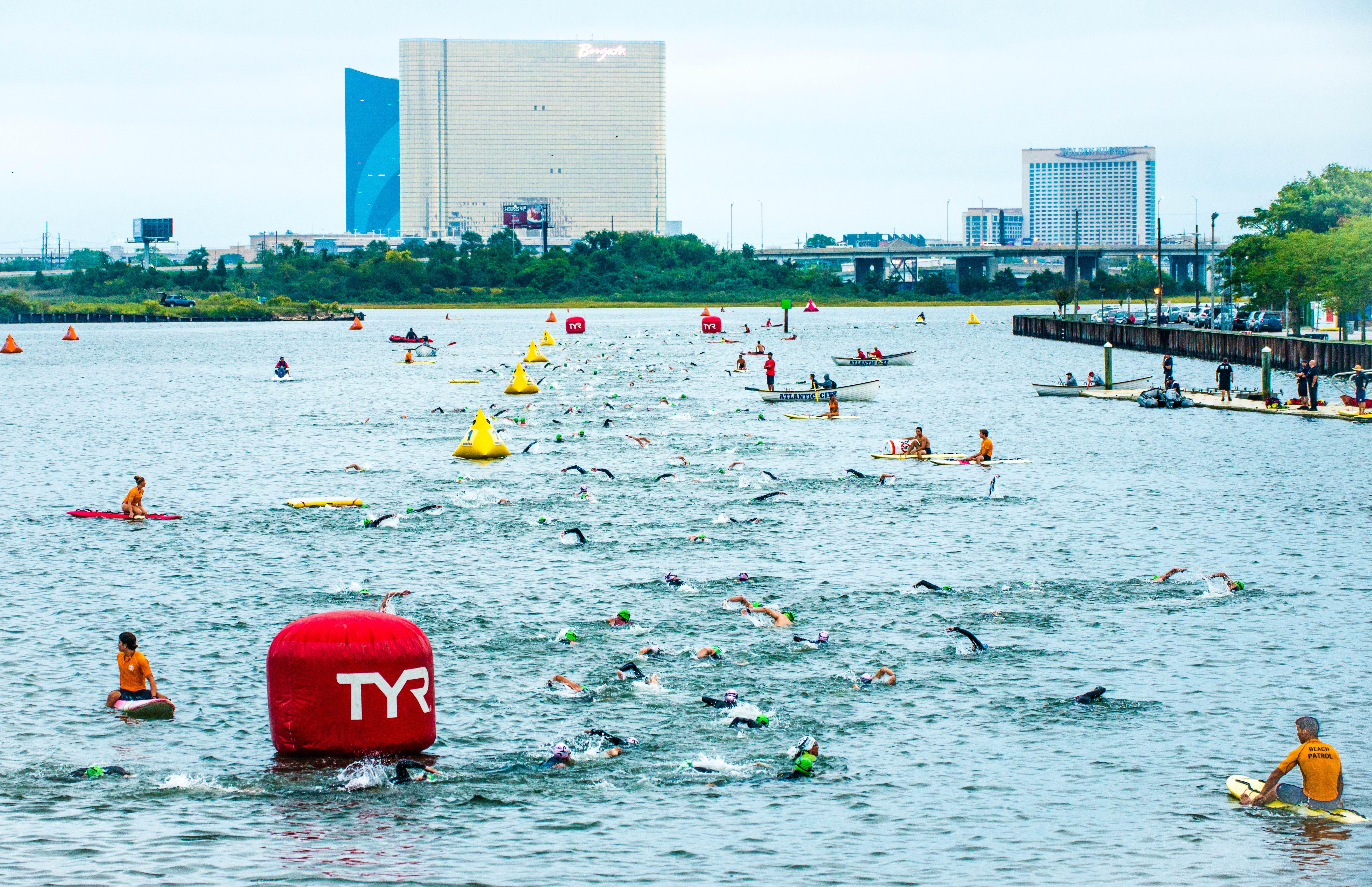 swim - Ironman 70.3 Atlantic City