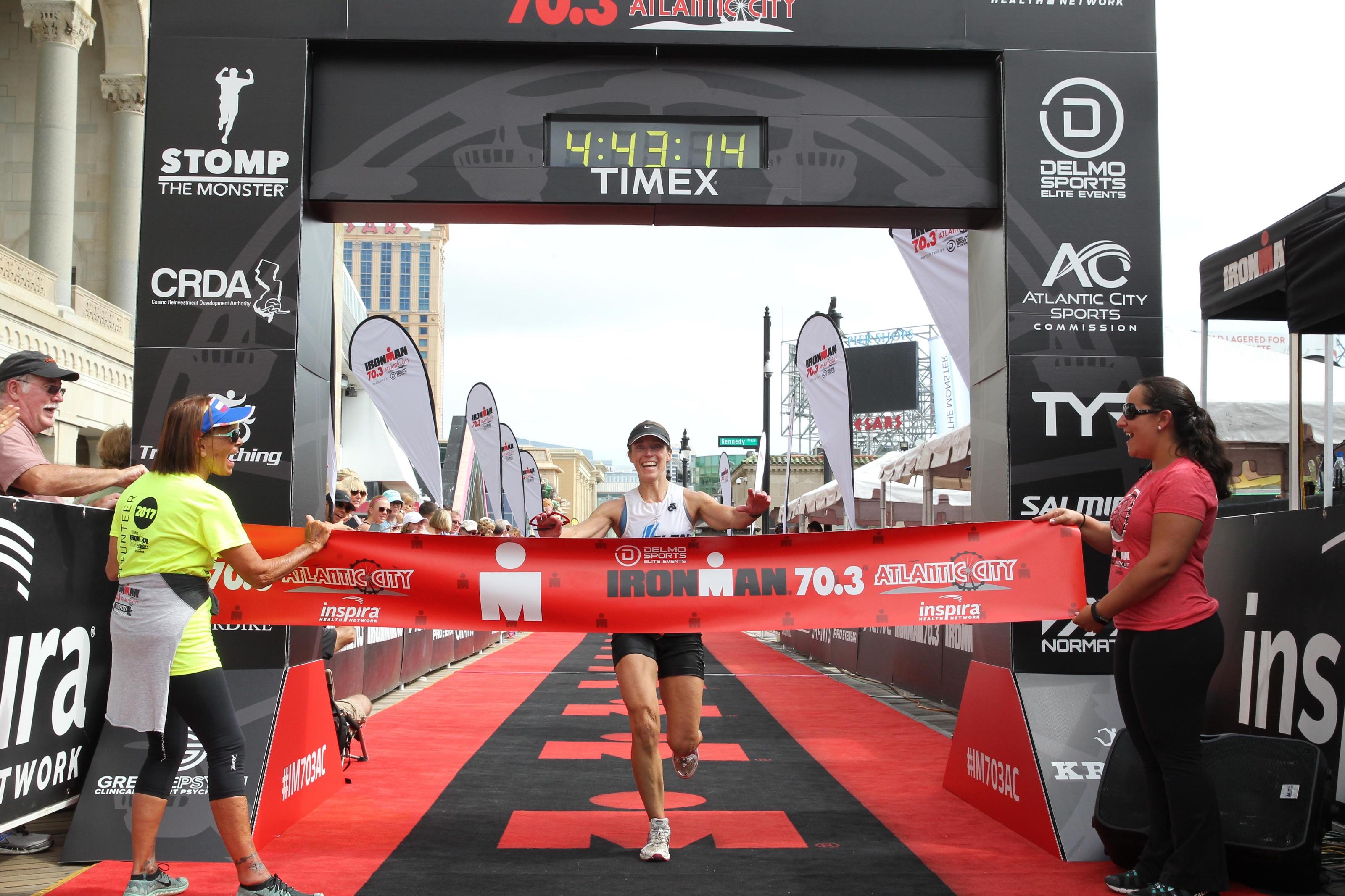 finish - Ironman 70.3 Atlantic City