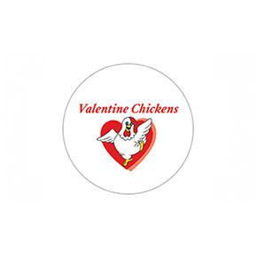 Pollos de San Valentín