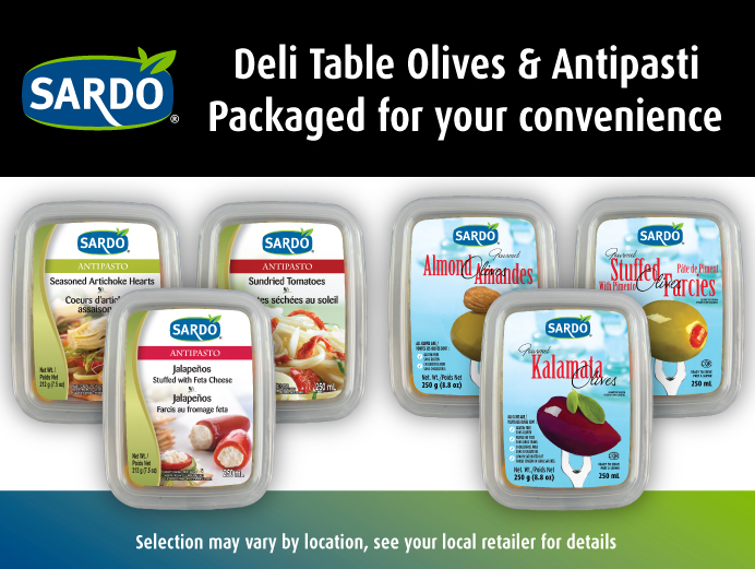 Click for Deli Table Olives & Antipasti.