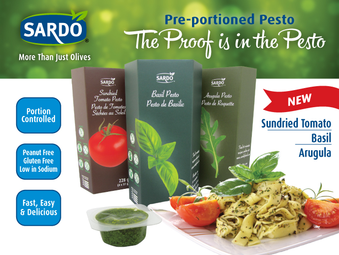 Pre-portioned Pesto. The proof is in the Pesto. Click to view Sardo Pesto.