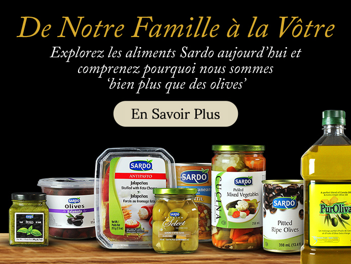 "Click to explore why we're ""More than just olives""."