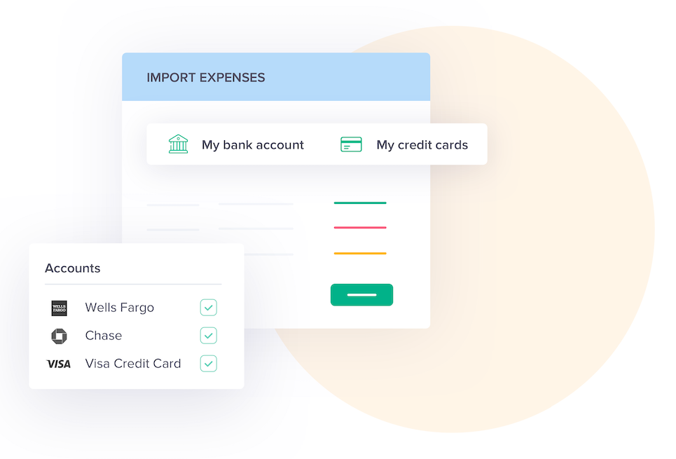 Expense tracking graphic