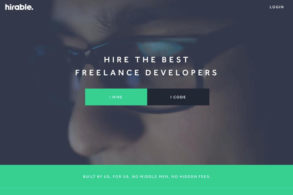 Best freelance website hirable - bonsai
