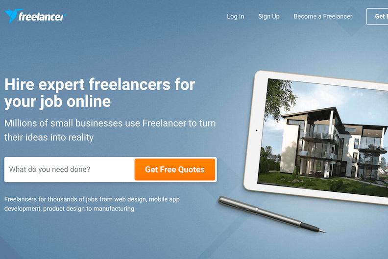 Best freelance website freelancer - bonsai