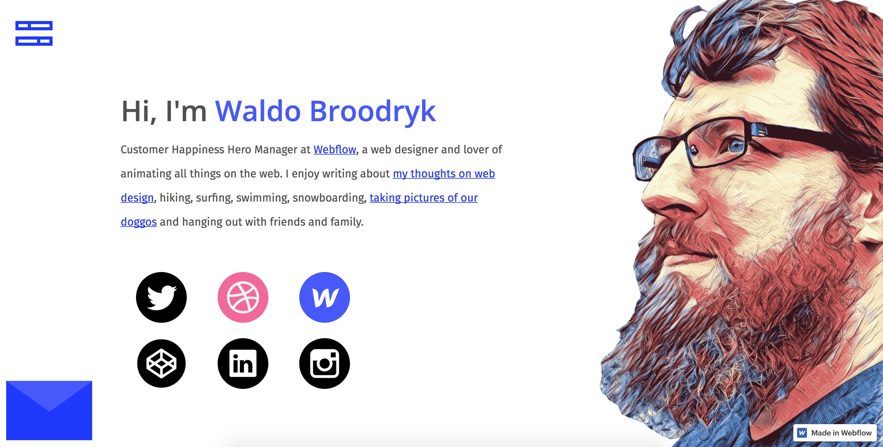 Waldo Broodryk Portfolio