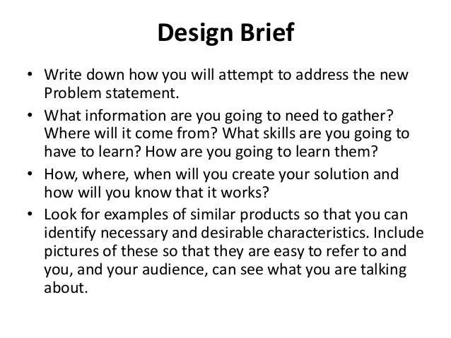 Product Brief Template PDF