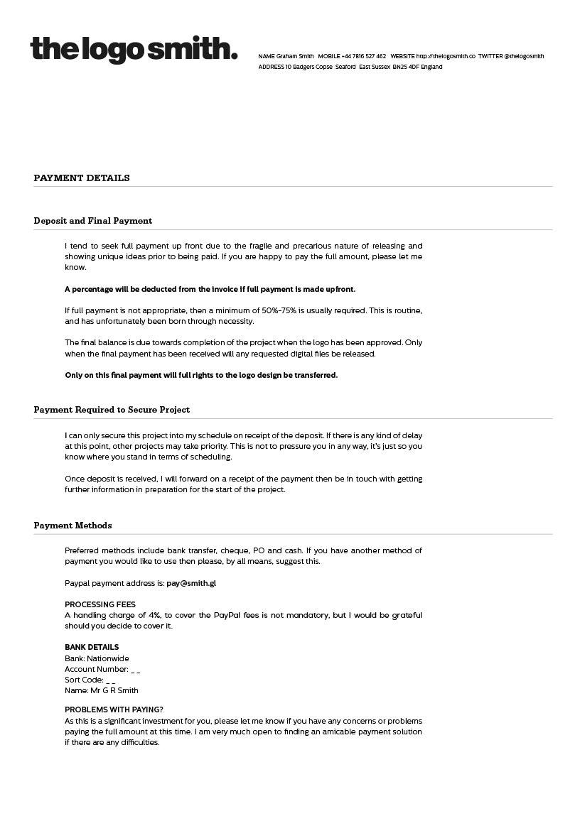 Craft And Download A Professional Designer Proposal Bonsai
