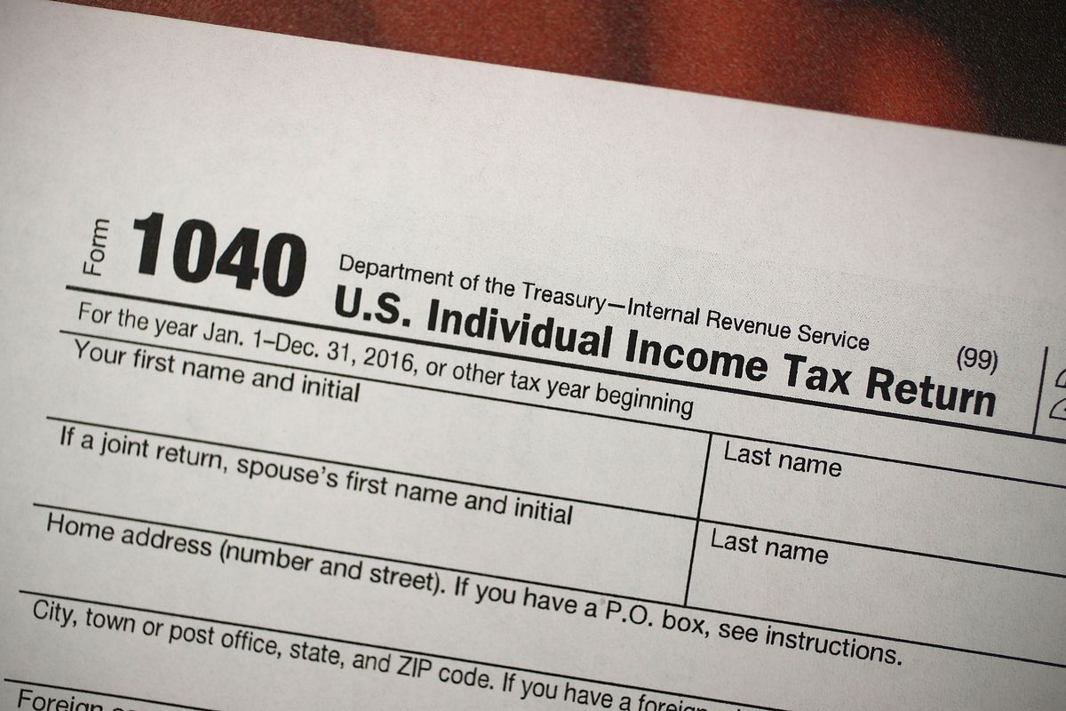 Freelance Tax Return Form 1040