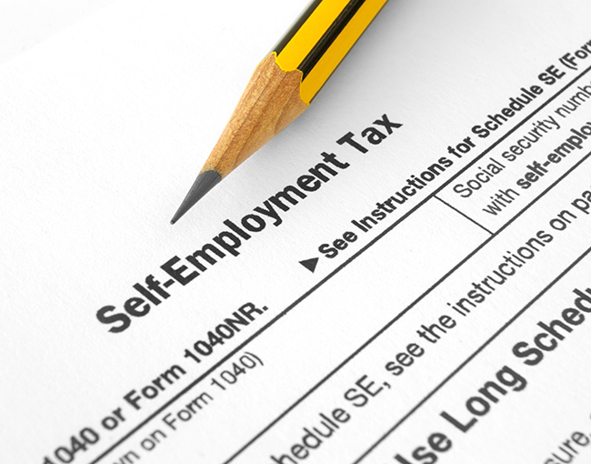 Self Employment Income Tax
