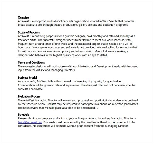 Business Proposal Template PDF