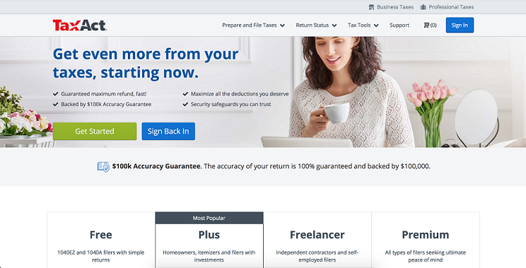 TaxAct for Freelancers