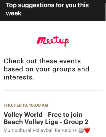 meetup events