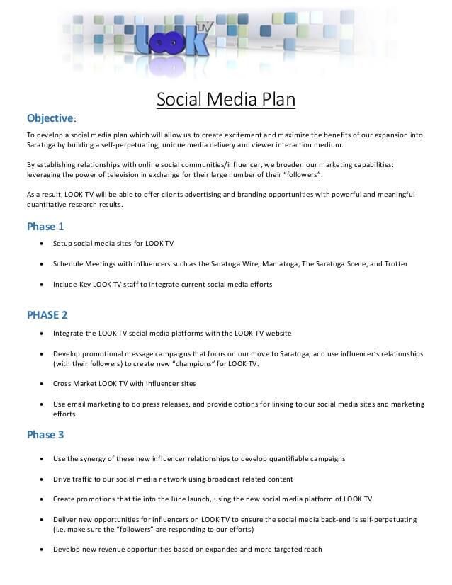 Influencer Marketing Proposal Template