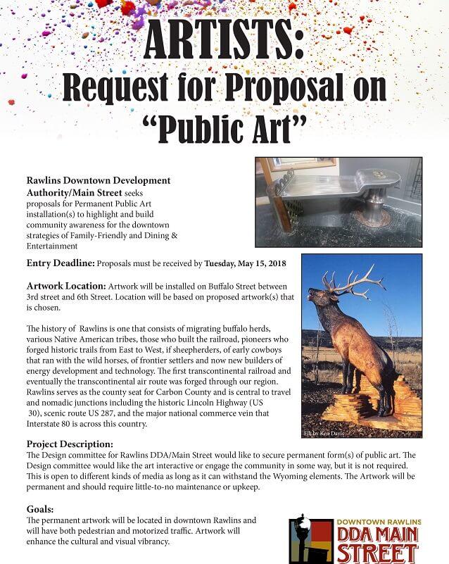 Artist Proposal Template Sample