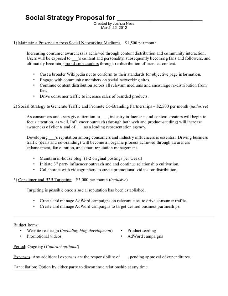 Digital Marketing Agency Proposal Template