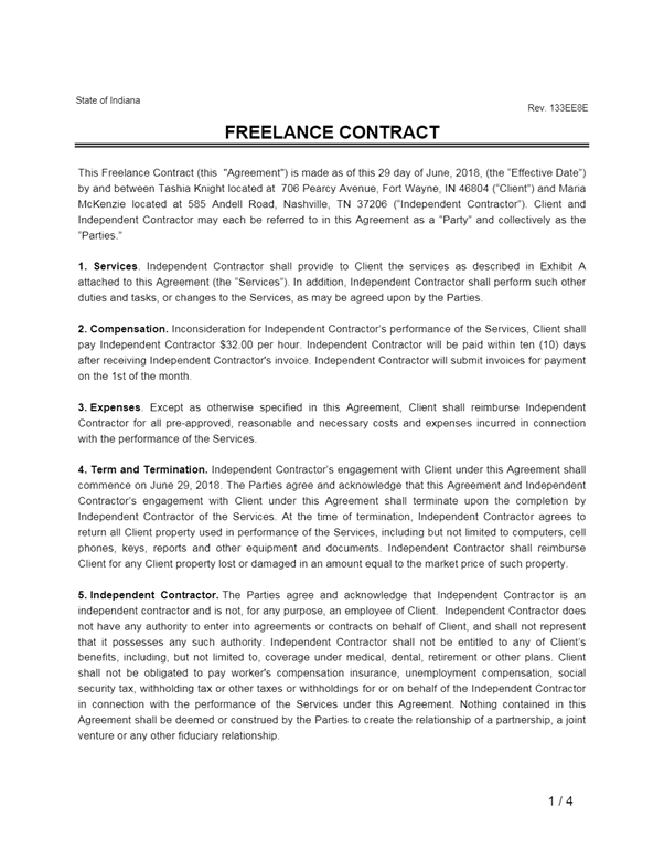Service Agreement PDF Template